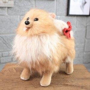 Image 4 - באיכות גבוהה סימולציה כלב בפלאש צעצוע צ יוואווה בולדוג שר פיי כלב ילדים תינוק יום הולדת הווה רך ממולא בפלאש צעצוע