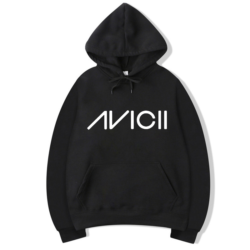 Vsenfo DJ Avicii Hoodies Men Women Sweatshirt Harajuku Fleece Pullover Tim Berg Bergling Avicii Unisex Hoody