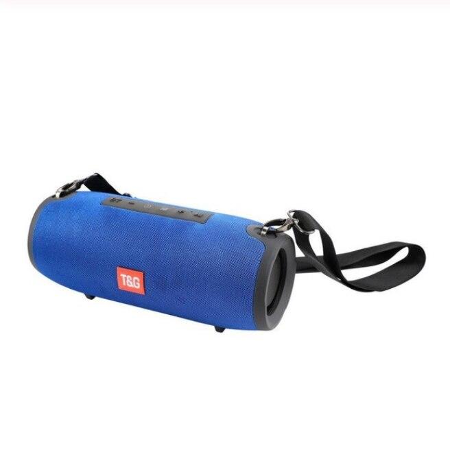 TG118 tissu art extérieur grand haut-parleur Bluetooth haut-parleur étanche stéréo caissons de basses Soundbox. Gros tambours de guerre haut-parleur Bluetooth - 2