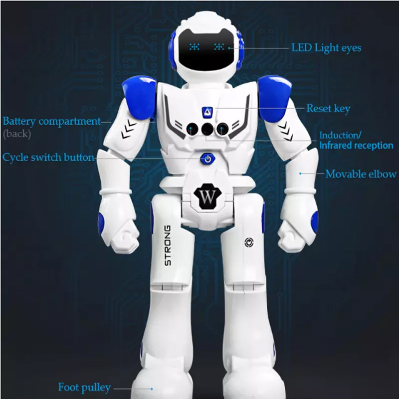 The Best Early Kids Smart Toys With Music Talking Walking Function Induction Intelligent Remote Control Robot Children Educational Toys Smart Remote Control