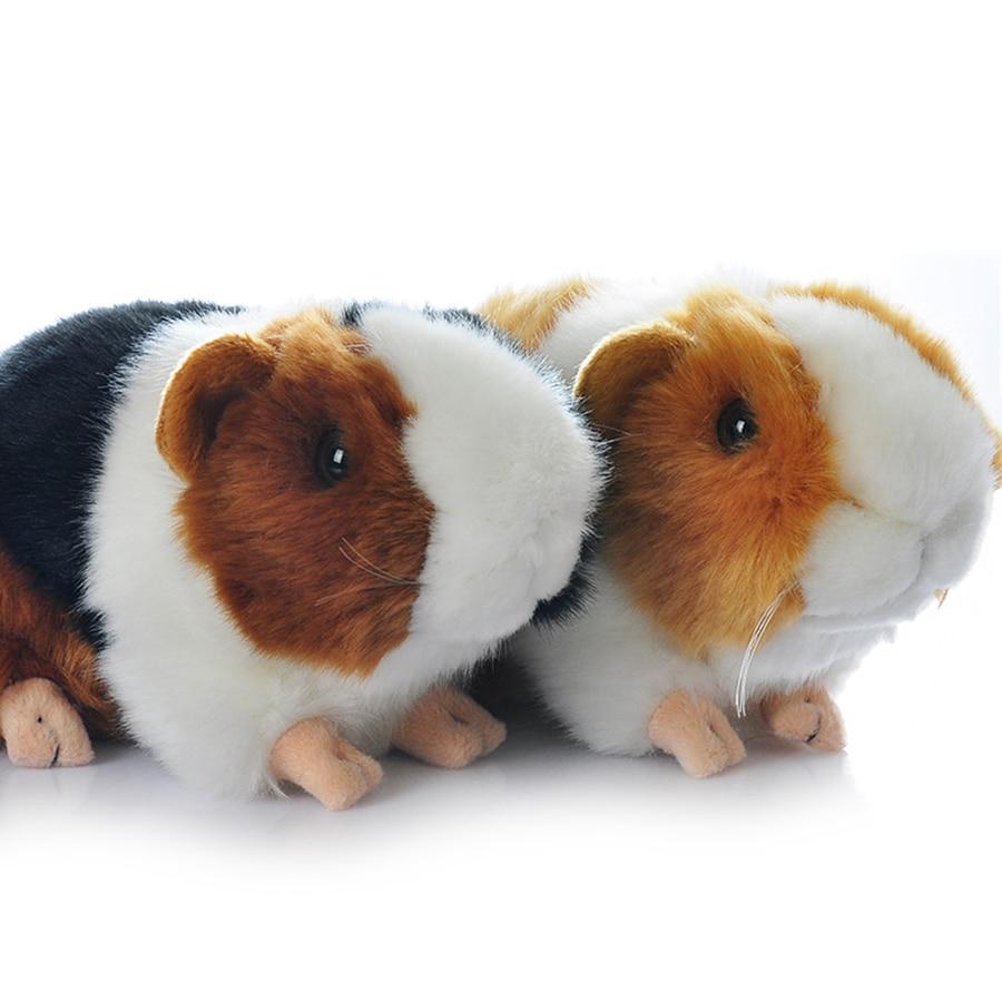18cm Cute Guinea Pigs Pig Toys Plush Toy Stuffed Animals Doll Dutch Rat Mini Hamster Juguetes Birthday Valentine Present 50T0451 wild world guinea pig plush cavia porcellus doll cute stuffed simulative toys for baby kids birthdays gifts 17 10cm 7 4