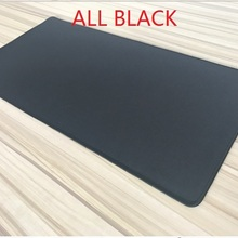 Большой коврик для мыши WESAPPA 60x30/70x30/90x40 см, все черные коврики для мыши, полностью черный Настольный коврик для мыши, Офисная подушка, супер большой коврик для мыши 60 см, 7120 см, XXL
