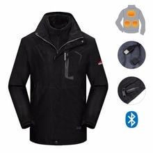 Wysokiej jakości męska kurtka z ogrzewanie pad dla wspinaczka camping piesze wycieczki trekking połowów aktywności na świeżym powietrzu wędkarstwo polowanie kolarstwo