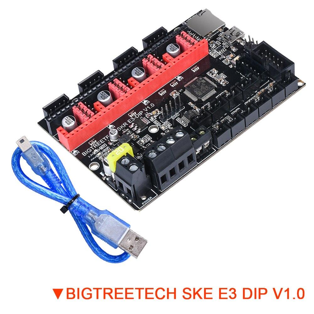 BIGTREETECH SKR E3 DIP V1.0 Upgrade 32 Bit Motherboard Support TMC2208 UART TMC2130 SPI For Ender 3 SKR V1.3 3D Printer Board