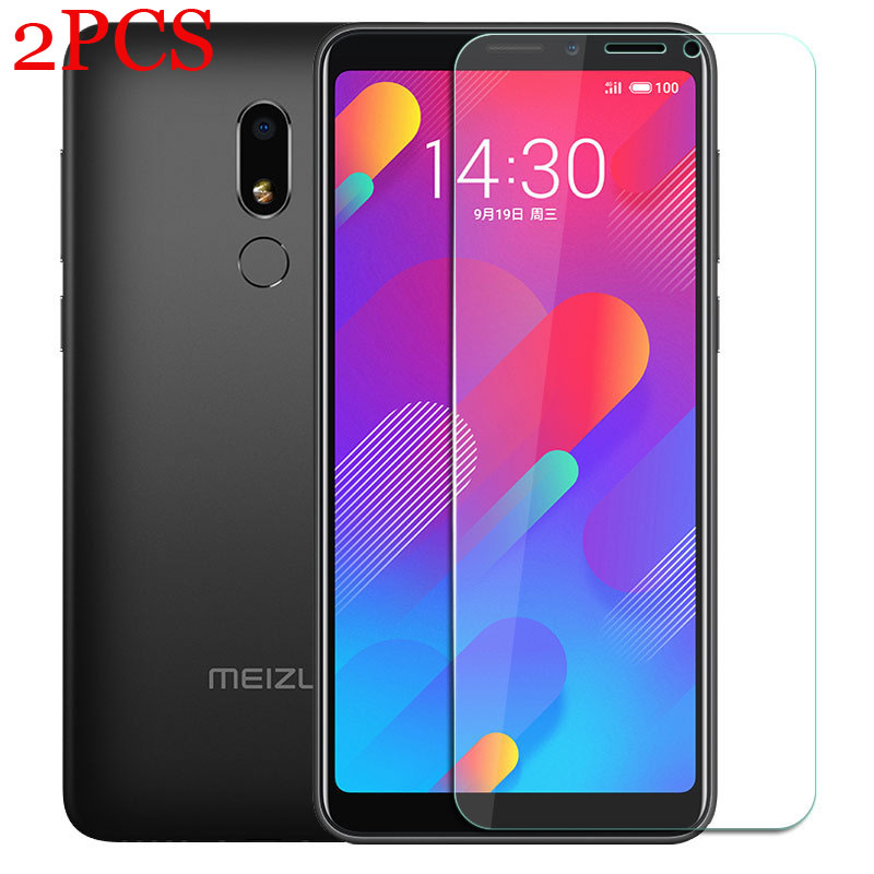2pcs Screen Protector For Meizu M8  Tempered Glass For Meizu M8 Lite Protective Glass For Meizu M8 Lite M8 Note M822Q