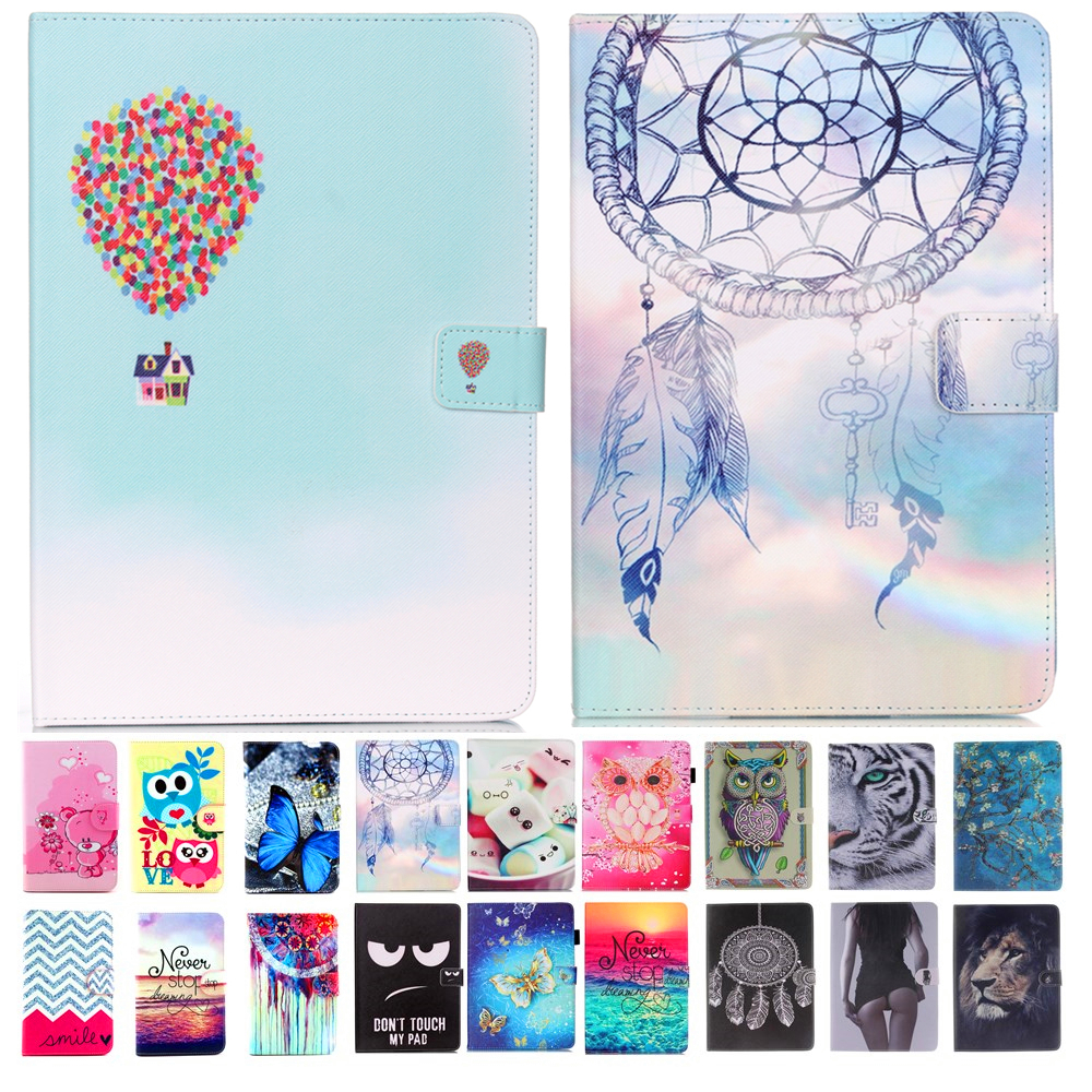 New balloon Print Flip Book Style PU Leather Case For Ipad 4 3 2 Stand Smart Cover For iPad2 ipad3 ipad4 Cover Case