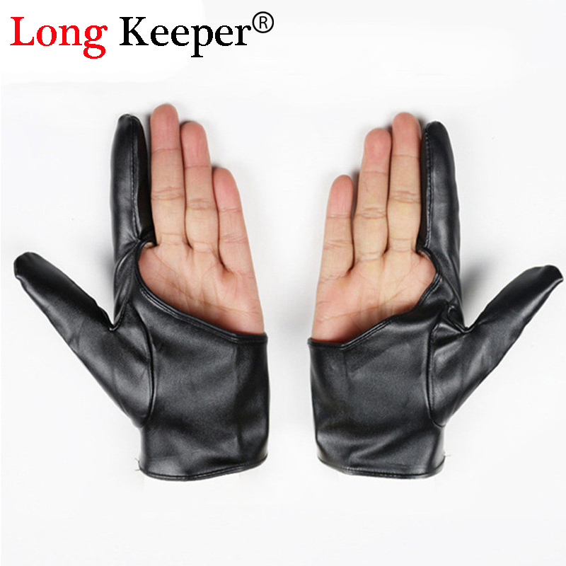 1 Fitness Gloves For Women Men Dance Leather Gloves Semi Fingerless Luvas Half-finger Party Fitness Gloves For Women G-79