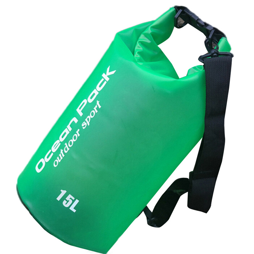 PVC Waterproof Dry Bag Outdoor Sport Swimming Rafting Kayaking Sailing Bag Sport Bike Cycling Accessories High Quality Aug 1