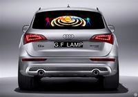 Auto Car Led Music Rhythm Sticker Sound Disco Activated Flash Lamp Light Big Bang