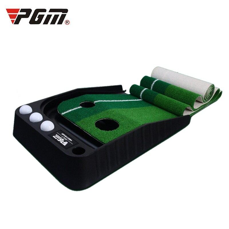 Pgm 2.5M/3M Golf Putting Mat Golf Putter Trainer Green Putter Carpet Practice Set Mini Golf Putting Green Fairway A961