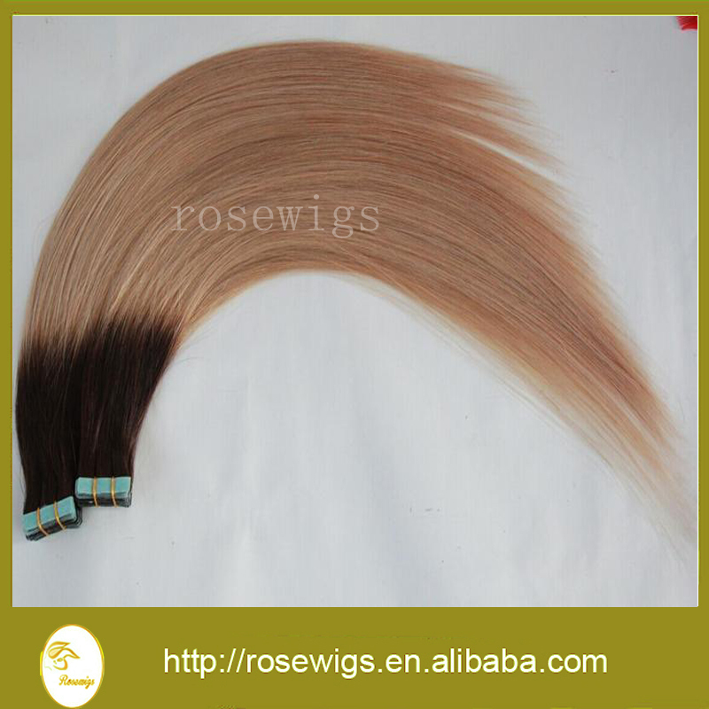 Free Shipping 16 18 20 22 24 Tape skin weft font b Hair b font Extension