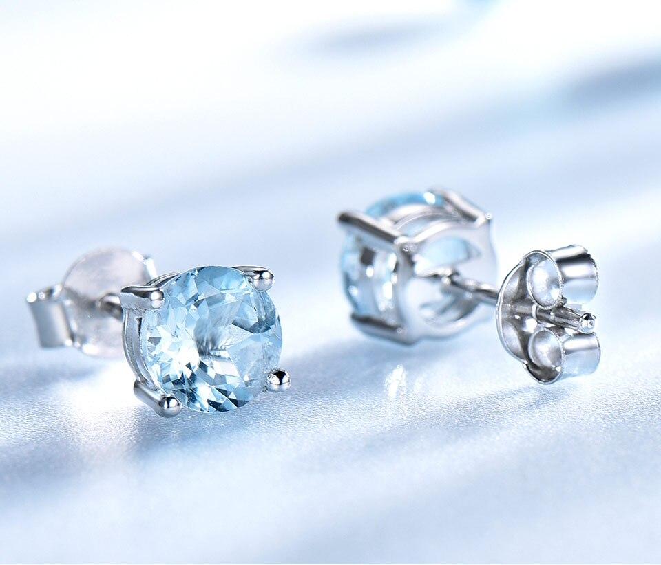 UMCHO-sky blue topaz earringss for womenEUJ002B-1 (4)