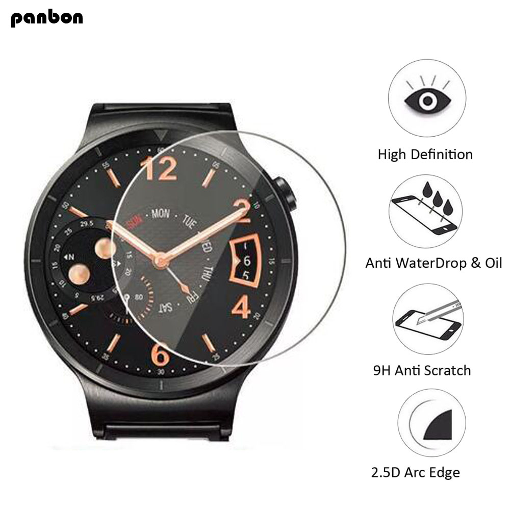For Motorola Moto 360 1st Gen 2nd Gen 42mm/46mm Smart Watch Tempered Glass 9H 2.5D Premium Screen Protector Film