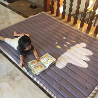 Cartoon Cloud Pattern Rugs For Kids Room Thicken Children Play Game Mat Environmental Baby Crawling Puzzle