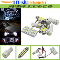 9 Pieces Car Interior LED Bulb 5630 SMD LED Kit Package White License Plate Map Dome