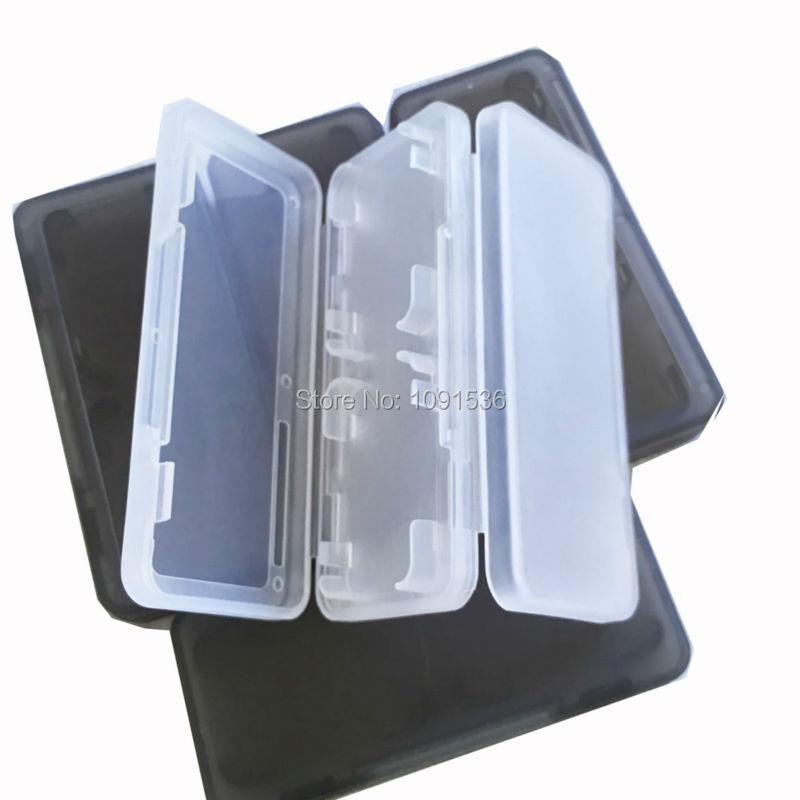4 in 1 Memory Card Holder Game Card Case Box Cartridge Anti Dust Anti Scratch Protector for Nintendo Switch Gamepads Console