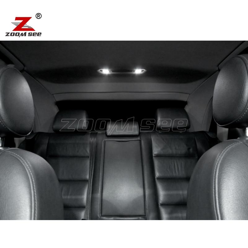 20 pc x Canbus LED lampu interior kubah peta cahaya Kit Paket untuk - Lampu mobil - Foto 4