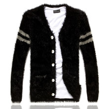 2019 neue Winter Männer Mode Boutique Casual Strickjacke Pullover Männlichen Strickwaren Jacken männer Bequeme Warme Business Pullover Mäntel(China)