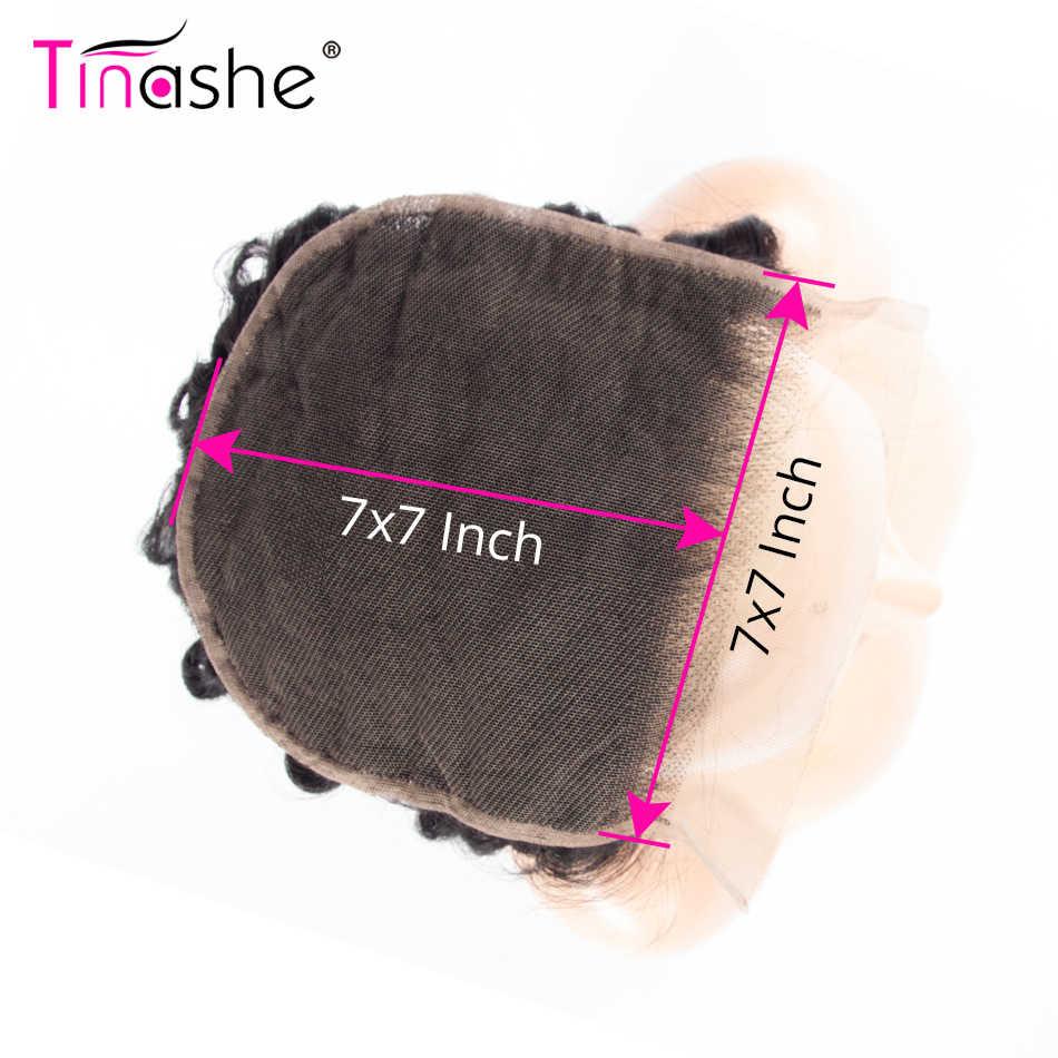 Tinashe Haar Diepe Golf 7x7 Vetersluiting Remy Braziliaanse Menselijk Haar Natuurlijke Kleur 10-20 Inch Zwitserse vetersluiting