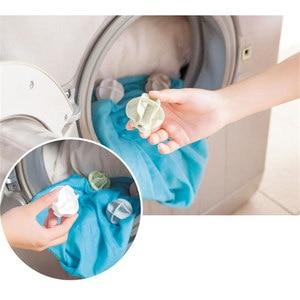 Image 5 - 2 pcs descontaminação magia anti enrolamento pendurado Bolas de Lavanderia de Secagem de Roupa Rack de Sol Sockings QW102 Multifuncional Casa