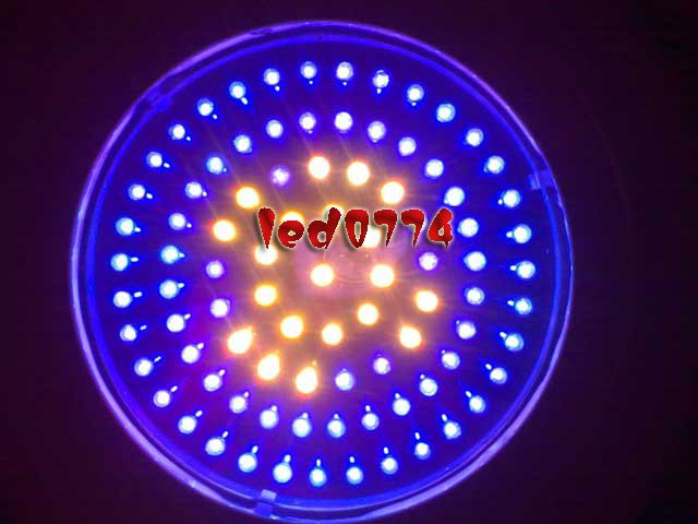 купить LED grow light Free shipping New 90W LED UFO Red460NM&630NM  7:2 Plant Hydroponic Lamp Grow Lights недорого