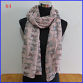9 colors Cat scarf 2016 Hot Sale Printed Scarves Wrap Shawl ladies women's scarf ,free shipping!