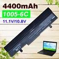 Negro 4400 mah batería para asus eee pc 1001 p x 1001 p 1001 1005 1005peg 1005pr 1005px al31-1005 al32-1005 ml32-1005 pl32-1005