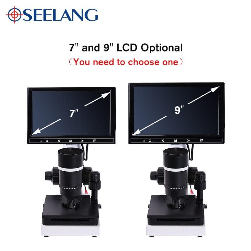 "Image 4 - profesional Nailfold Capillary Microcirculation USB HD digital Microscope Blood Microcirculation + 7"" or 9"" Color LCD DisplayerMicroscopes   -"