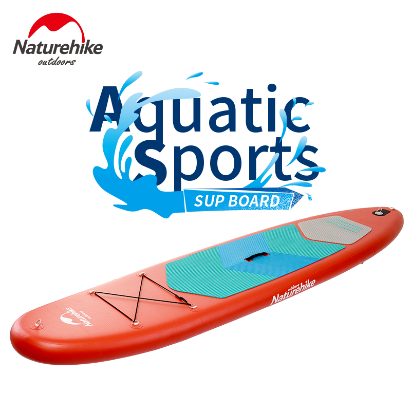 NatureHike 370*78*15cm 11 feet inflatable sup board stand up paddle board surf board surfboard inflatable boat aid kits