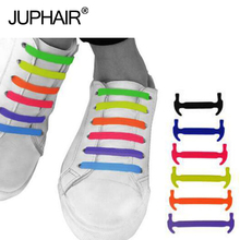 JUP 16 Pcs/Set New No Tie Silicone Shoe Laces Creative Shoelaces For Unisex Women Running Elastic Silicone Shoe Lace All Sneaker new 3 sets 16 roots unisex adults womens mens fashion no tie elastic silicone shoelaces flat shoes footwear recreational running
