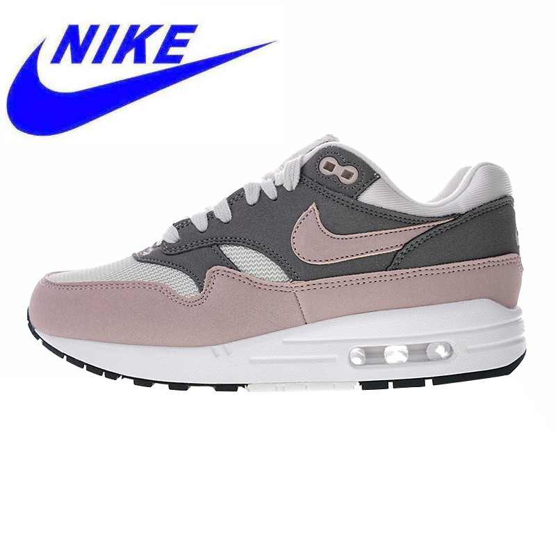 pretty nice d64bc 07fe0 Original Nike Air Max 1 Women s Running Shoes, Pink Red, Shock-absorbing Non -slip Wear Resistant 319986 032 319986 035