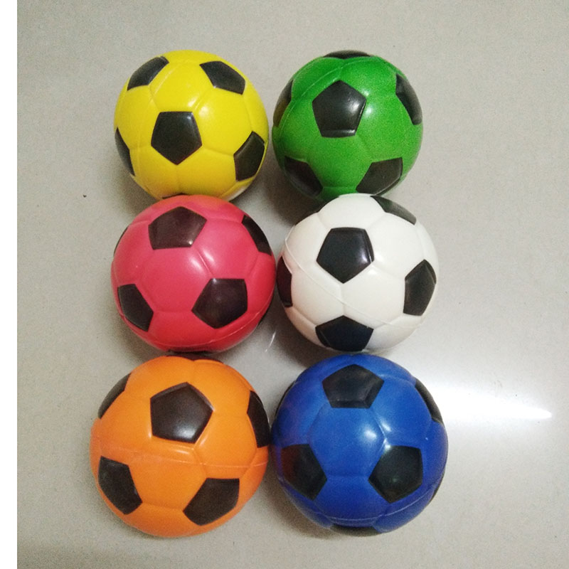 Toy Anti Stress Squishy Relief Colorful Soccer Basketball Baseball Tennis Foam squeeze Ball Toys for Girls Boys 6pcs 100mm