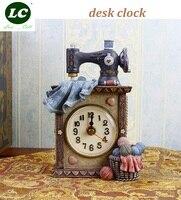 classic clock desk clock sitting room office table clock Mute pendulum children/student art gift originality handcraft