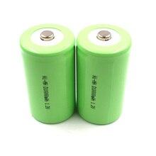 D 10000mAh 2 pieces 10Ah HR 20 rechargeable battery size 1.2V Ni-MH bateria recarregavel type nimh 33600