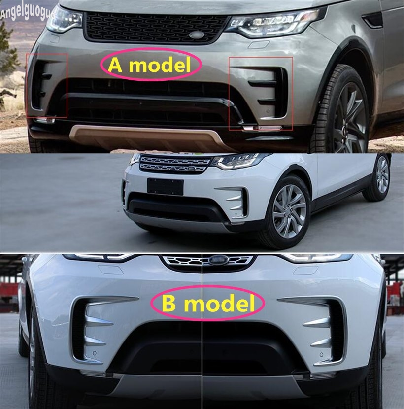 For Land Rover Discovery 5 Accessories ABS Chrome Or Black