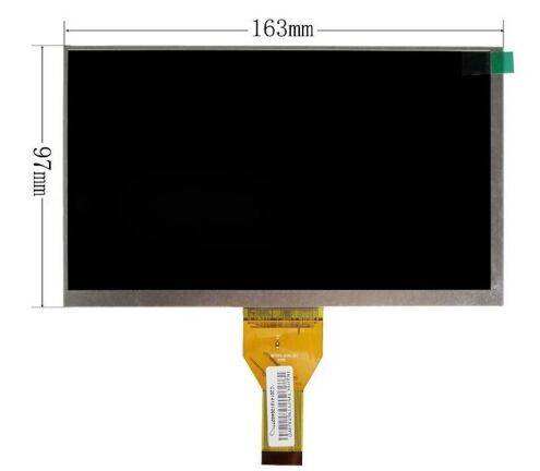 New 7 Inch Replacement LCD Display Screen For IRBIS TX68 tablet PC Free shipping  цена