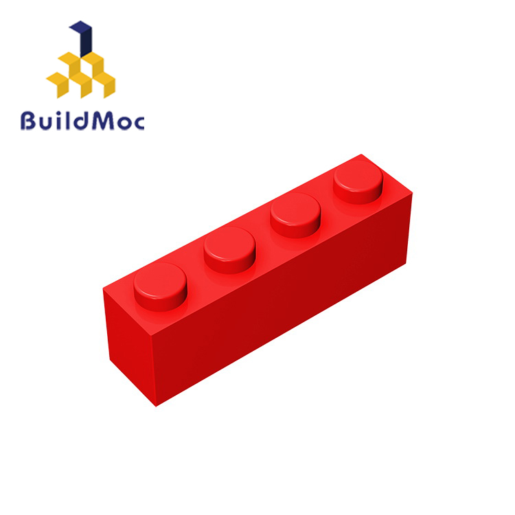 BuildMOC Compatible Assembles Particles 3010 1x4 For Building Blocks Parts DIY LOGO Educational Creative Gift Toys