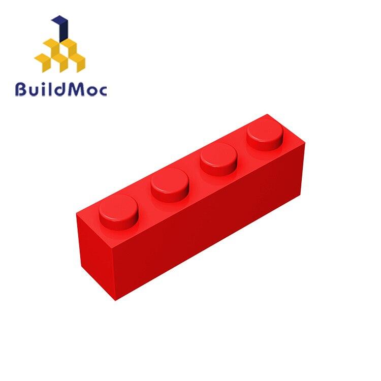 BuildMOC, совместимые сборы, частицы 3010, 1x4 для строительных блоков, детали «сделай сам», электрические развивающие классические брендовые Пода...