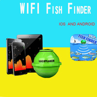 Lucky FF916 Wireless WIFI Sonar Fish Finder For IOS Android Smart Fishfinder 50M 130FT Echo Sounder