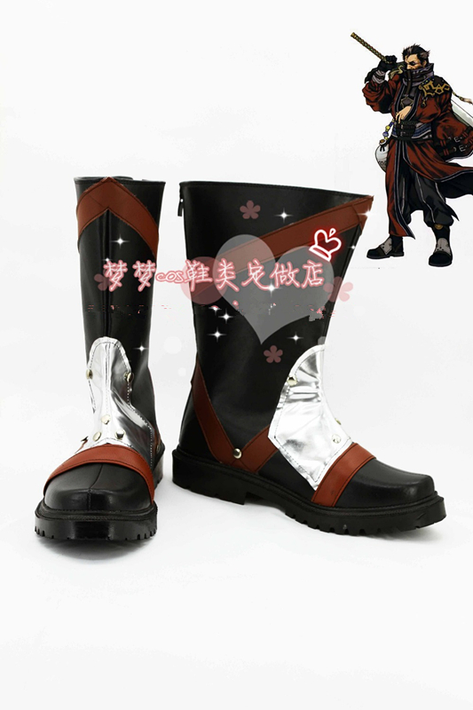 Final Fantasy  X FF10 AURON Cosplay Boots Cosplay shoes Custom-Made