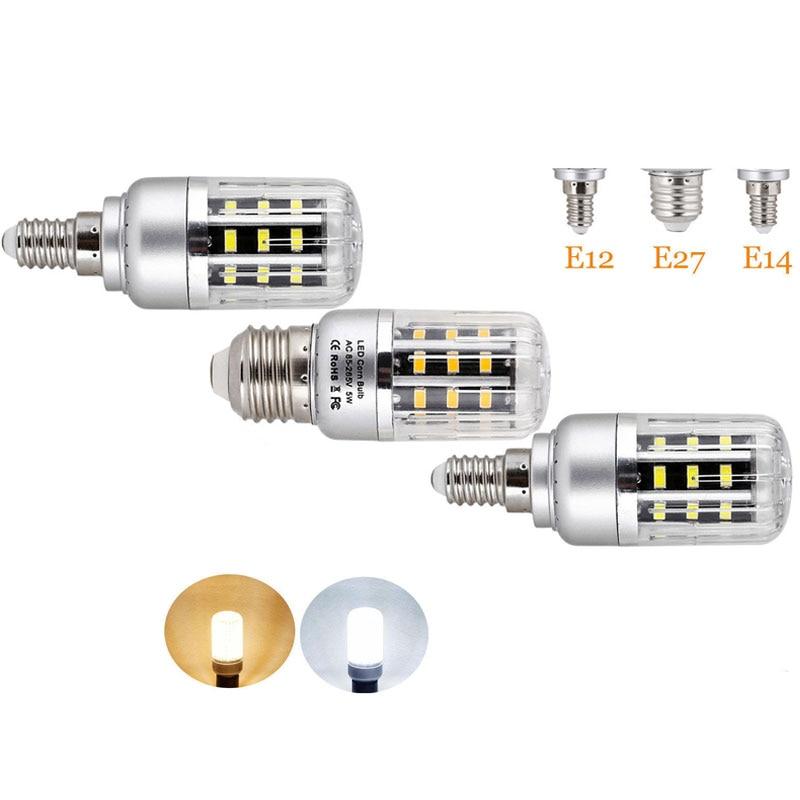 Led Corn Bulb E27 E14 E12 220V 110V 32Leds 56Leds 72Leds 88Leds 130Leds 5W 10W 15W 20W 25W Light Bulbs Energy Saving e27