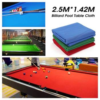 Zielony niebieski czerwony Snooker bilard tkaniny basen osiem piłka stół bilardowy tkaniny dla amerykańskich akcesoriów Snooker tanie i dobre opinie other Pręt przetarcie szmatką