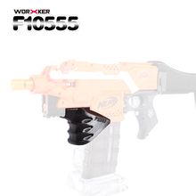 Worker 3D Printing Decorative Holder handle for Nerf Stryfe Professional Toy Accessories- Black
