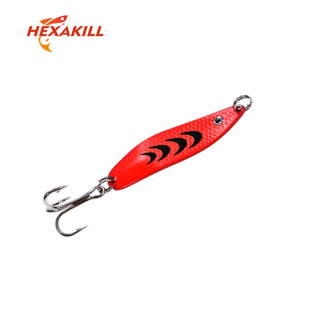 Trout Spoon Fishing Lures Spinner Bait  Wobblers Jig Lures Pesca Isca Artificial VIB Sequins Hard Baits For Carp Fishing Tackle
