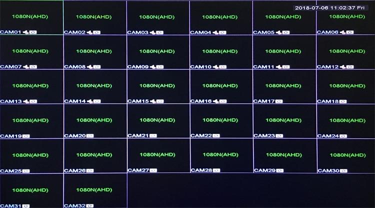 Image 5 - 1080 P, 960 P, 720 P, 960H caméra de vidéosurveillance HI3531A 32CH 32 canaux 6 en 1 Coaxial hybride NVR CVI TVI AHD DVR enregistreur vidéo de Surveillance-in Enregistreur de vidéosurveillance from Sécurité et Protection on AliExpress