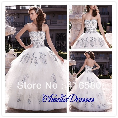 AL0691 Vintage soft sweetheart neckline tulle and lace ball gowns ...