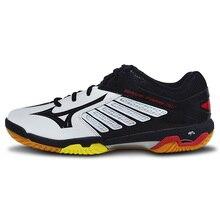 Mizuno профессиональная обувь для бадминтона для мужчин и женщин спортивная обувь на подушке дышащие Нескользящие домашние спортивные кроссовки