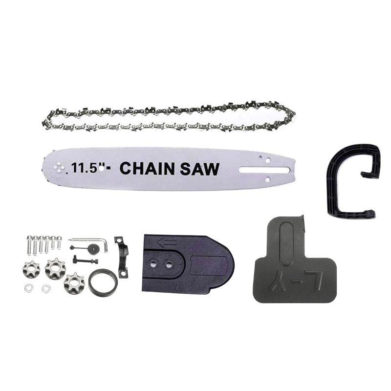 Support de coupe réglable pour le travail du bois convertisseur de tronçonneuse électrique meuleuse d'angle scie à chaîne
