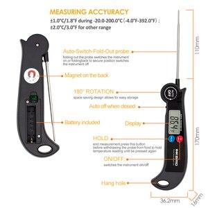 Image 5 - Inkbird HET F001 термометр для мяса, цифровой термометр для барбекю электронный Пособия по кулинарии Еда датчик температуры воды молока Кухня духовой шкаф для инструментов
