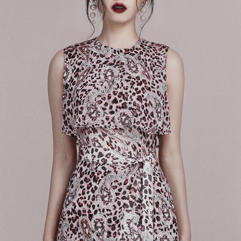 Max-Spri-2019-New-Fashion-Style-Elegant-Women-Dress-Sleeveless-Fron-Slit-A-line-Dress